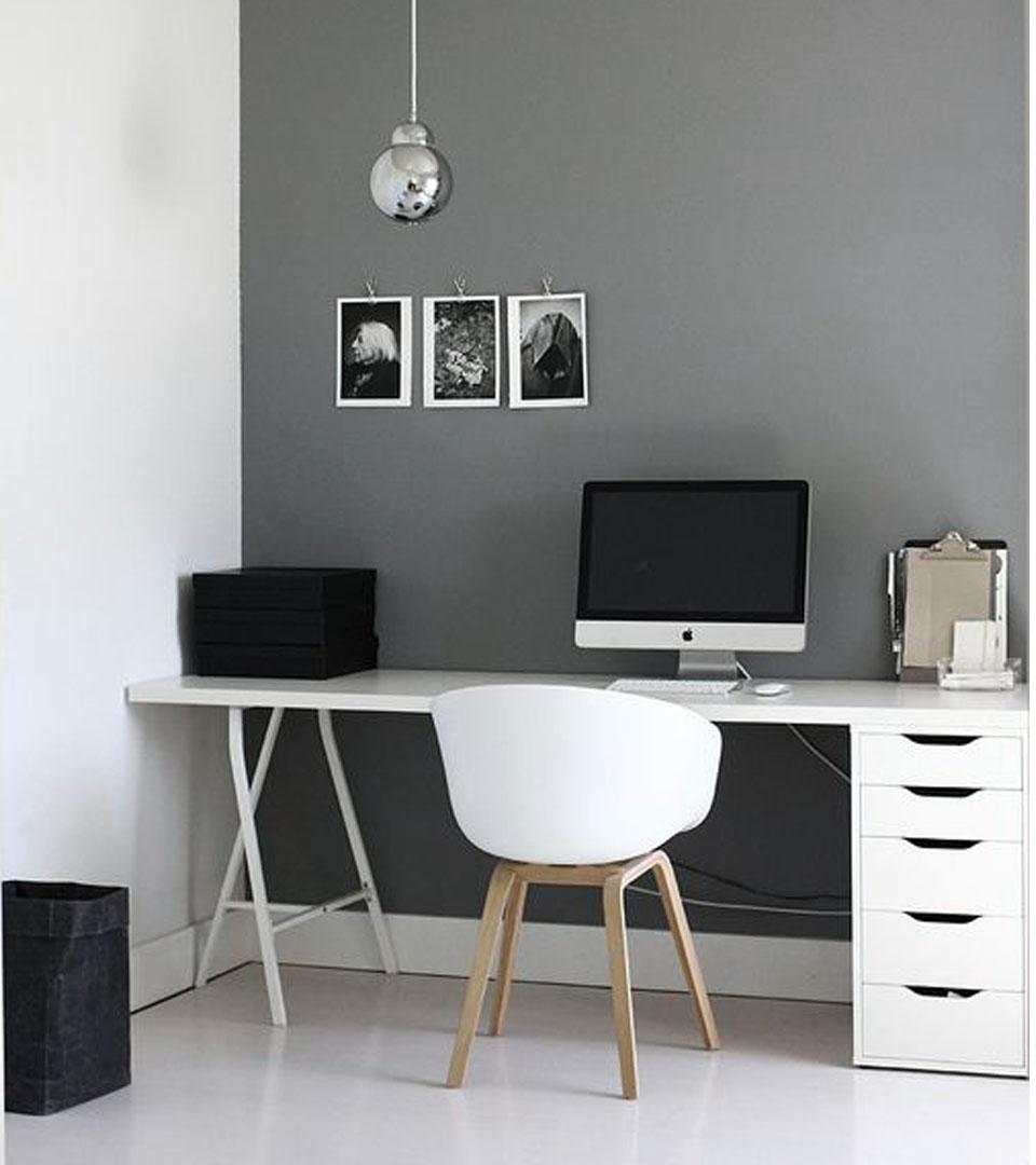 6 colores para oficinas modernas imprescindibles for Imagenes de oficinas minimalistas