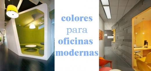 Colores para pintar oficinas peque as for Colores para oficinas pequenas