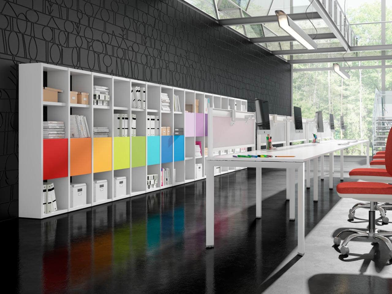 El poder de los colores para oficina for Colores para oficina