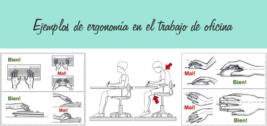 5 excelentes ejemplos de ergonom a en el trabajo for Ergonomia en la oficina