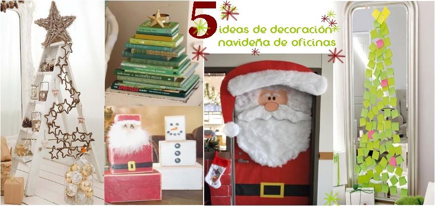 5 ideas de decoraci n navide a para oficinas - Ideas para decoracion ...