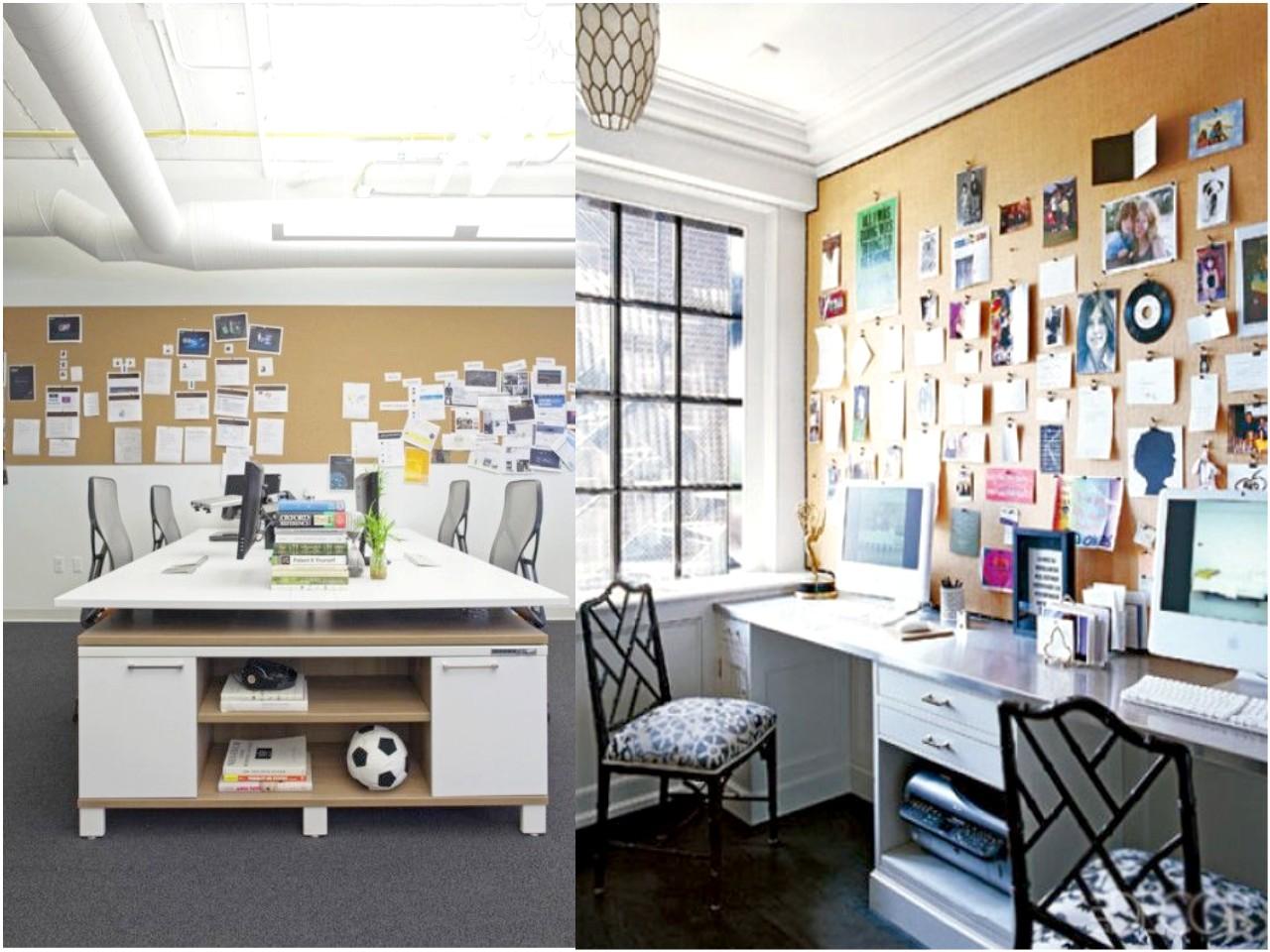Qu es moodboard imprescindibles en tu oficina for Corcho para insonorizar paredes