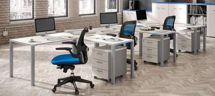 Diferencias entre oficinas modernas y contempor neas for Fotos de oficinas pequenas modernas