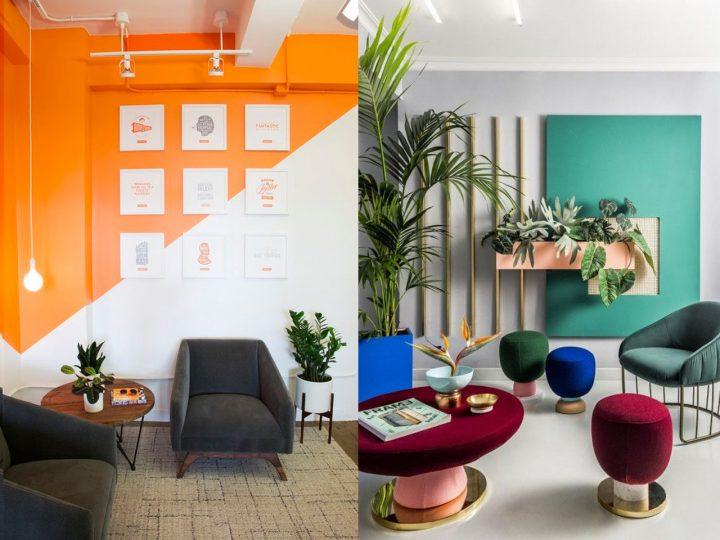 decoracin oficinas modernas sala de espera