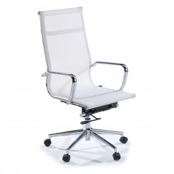 Slim - Sillón de oficina Slim red alto blanco - Imagen 1