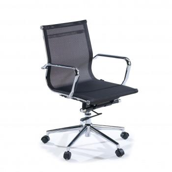 Slim - Sillón de oficina Slim red bajo negro - Imagen 1