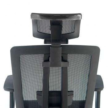 Ergomax - Silla de oficina Ergomax, premium, espuma inyectada con reposacabezas - Imagen 2