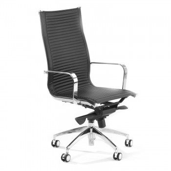 Croma - Silla de oficina Croma respaldo alto negro - Imagen 1