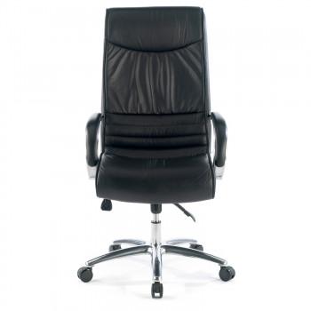 Oxford - Sillón de oficina Oxford piel natural negro - Imagen 2