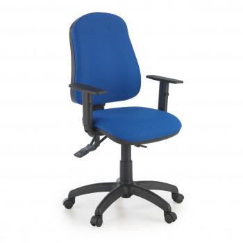 Eco2 - Silla de escritorio giratoria Eco2 Con Brazos Azul - Imagen 1