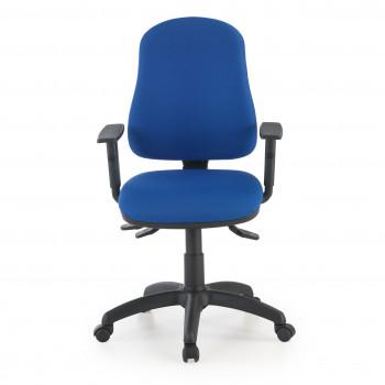 Eco2 - Silla de escritorio giratoria Eco2 Con Brazos Azul - Imagen 2