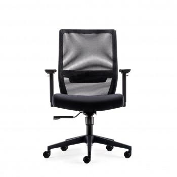 Axel - Silla de oficina Axel, espuma inyectada, negro - Imagen 2