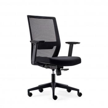 Axel - Silla de oficina Axel, espuma inyectada, negro - Imagen 1