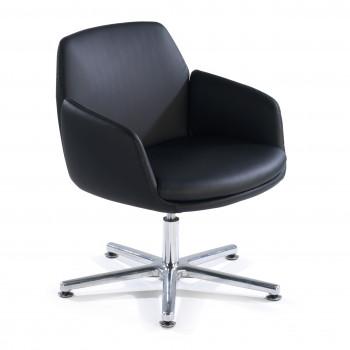 Bubble - Sillón de oficina giratorio Bubble, asiento espuma inyectada, negro - Imagen 1