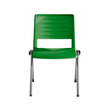 Replay - Silla confidente Replay, 4 patas Cromo verde - Imagen 2