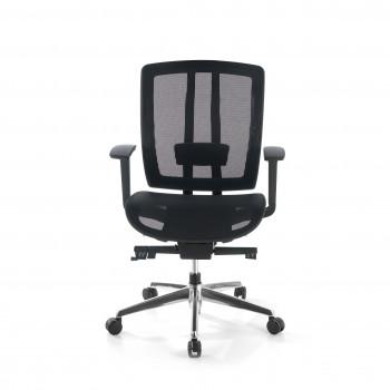 Ergomax - Silla de oficina Ergomax, premium, Red - Imagen 2
