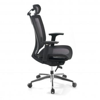 Ergomax - Silla de oficina Ergomax, premium, red con reposacabezas - Imagen 2
