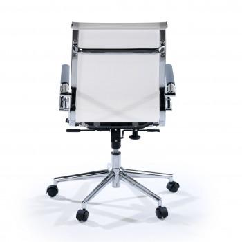 Slim - Sillón de oficina Slim red bajo blanco - Imagen 2