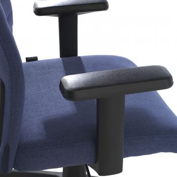 Parma - Silla de escritorio giratoria Parma, mecanismo basculante, Azul - Imagen 2