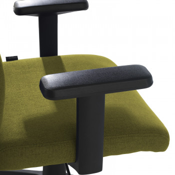 Parma - Silla de escritorio giratoria Parma, mecanismo basculante, Verde - Imagen 2