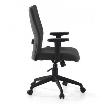 Parma - Silla de escritorio giratoria Parma, mecanismo basculante, Negro - Imagen 2