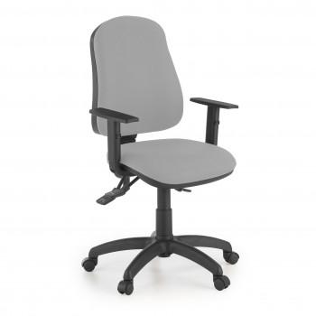 Eco2 - Silla de escritorio giratoria Eco2 Con Brazos Gris - Imagen 1