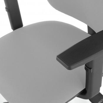 Eco2 - Silla de escritorio giratoria Eco2 Con Brazos Gris - Imagen 2