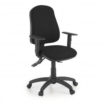 Eco2 - Silla de escritorio giratoria Eco2 Con Brazos Negro - Imagen 1
