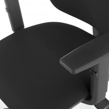 Eco2 - Silla de escritorio giratoria Eco2 Con Brazos Negro - Imagen 2