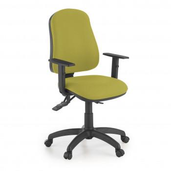 Eco2 - Silla de escritorio giratoria Eco2 Con Brazos Verde - Imagen 1
