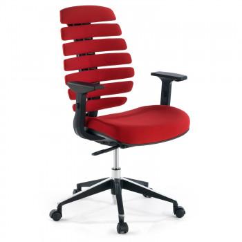 Spine - Silla de oficina ergonómica Spine rojo - Imagen 1