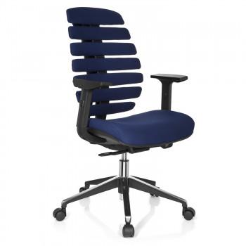 Spine - Silla de oficina ergonómica Spine azul - Imagen 1