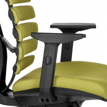 Spine - Silla de oficina ergonómica Spine verde - Imagen 2