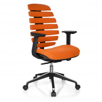 Spine - Silla de oficina ergonómica Spine naranja - Imagen 1