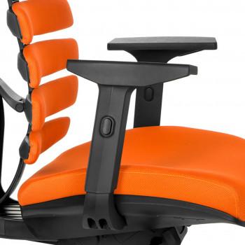 Spine - Silla de oficina ergonómica Spine naranja - Imagen 2