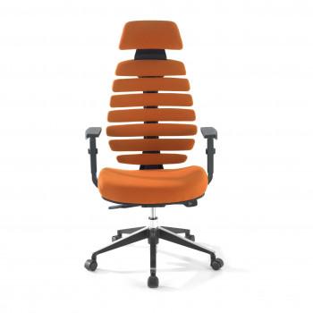 Spine - Silla de oficina Spine con reposacabezas naranja - Imagen 2