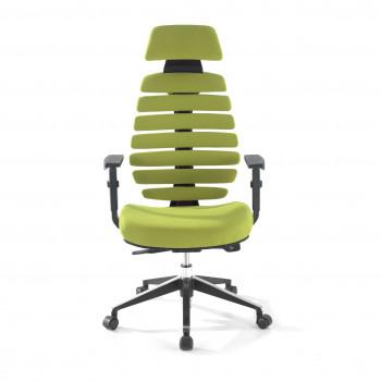 Spine - Silla de oficina Spine con reposacabezas verde - Imagen 2