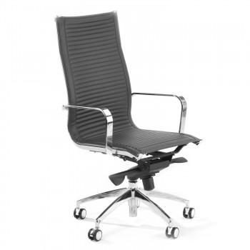 Croma - Silla de oficina Croma respaldo alto gris - Imagen 1