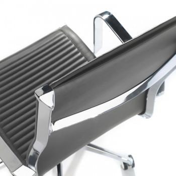 Croma - Silla de oficina Croma respaldo alto gris - Imagen 2