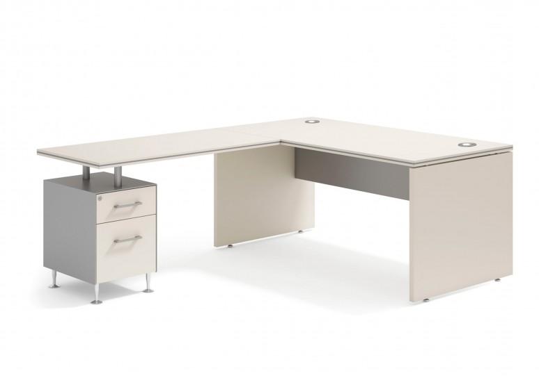 Work uno mesa con cajonera cajon/archivo