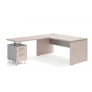 Work uno mesa con cajonera...