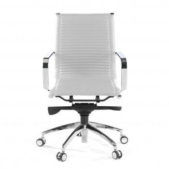 Croma - Silla de oficina Croma respaldo bajo blanco - Imagen 2