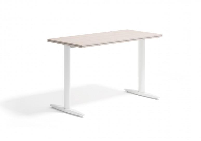 Work due mesa auxiliar blanco