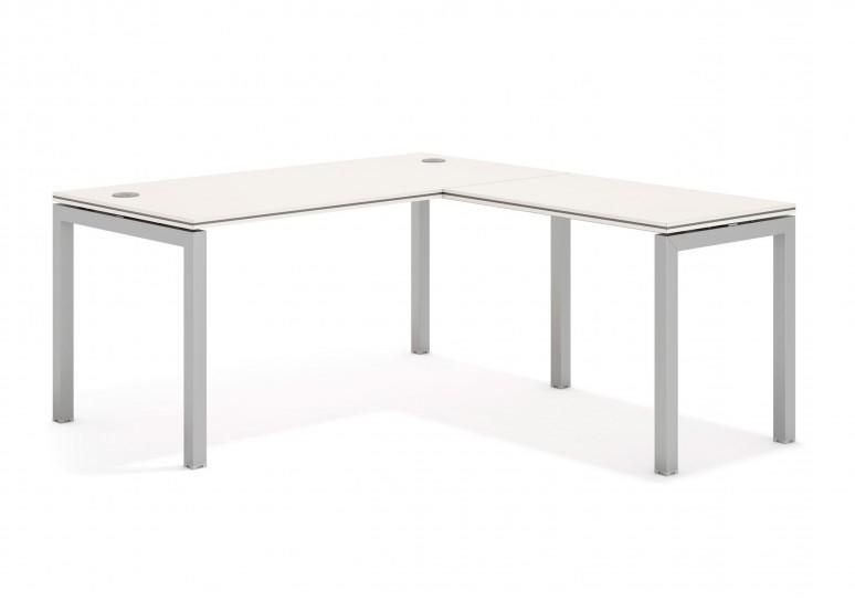 Work quattro mesa con ala aluminio