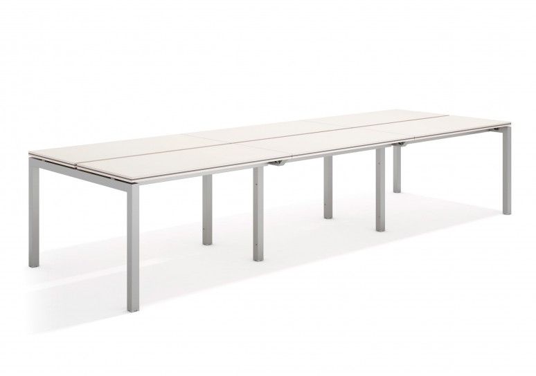 Work quattro mesa bench triple 123 aluminio