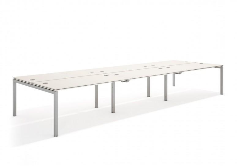 Work quattro mesa bench triple 163 aluminio