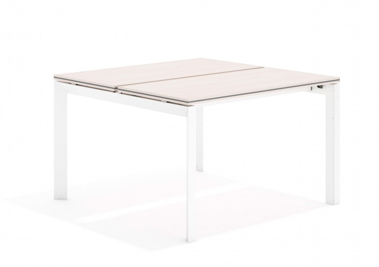 Work trio mesa bench 123 blanco