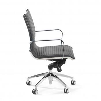 Croma - Silla de oficina Croma respaldo bajo gris - Imagen 2