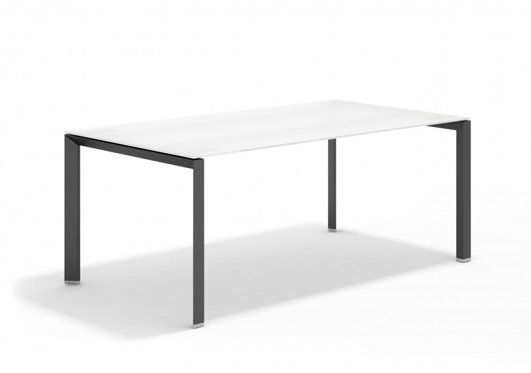 Link mesa de direccion cristal negro