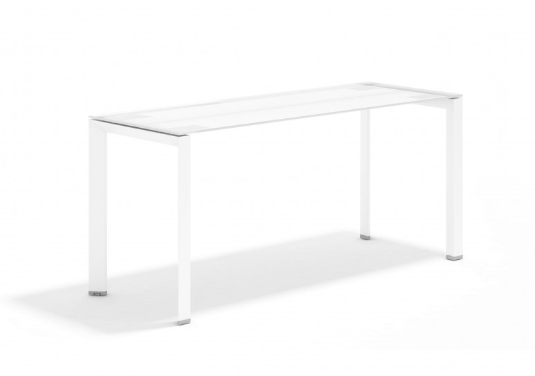 Link mesa auxiliar cristal blanco